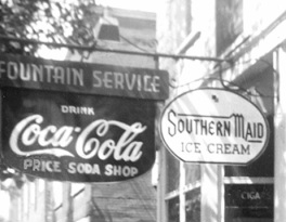 Price's Soda Shop, Cleveland, Virginia